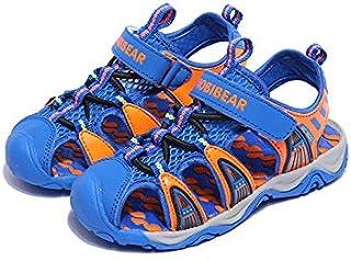 Boys Blue & Orange Beach Sandal