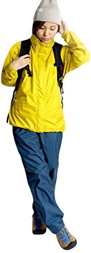 レインウェア上下セット全9色CanadianEast登山自転車バイクファッションレディース女性用アウトドアカナディアンイーストCEW8011S(L,GYL/NVY)