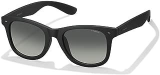 Polaroid Men'S Pld 1016/F/S Lb Pld 1016/F/S Lb Dl5 52 Rectangular Sunglasses 52, Matte Black/Grey Pz