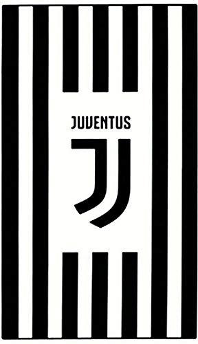 Reus Officiële FC Juventus (Serie A) Crest Handdoek (100% katoen en 140cm x 70cm)