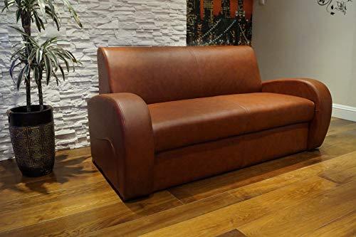 Quattro Meble Echtleder 2,5 er Sofa Mediolan FS Breite 171cm mit Schlaffunktion Ledersofa Echt Leder Couch große Farbauswahl !!!