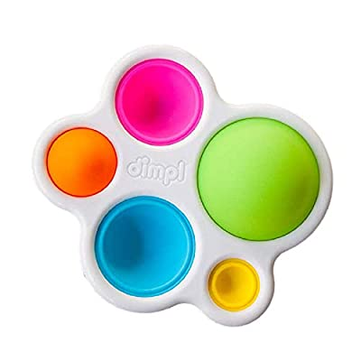 Fat Brain Toys Dimpl Baby Toys & Gifts for Ages 1 to 2, Multi from Fat Brain Toy Co.