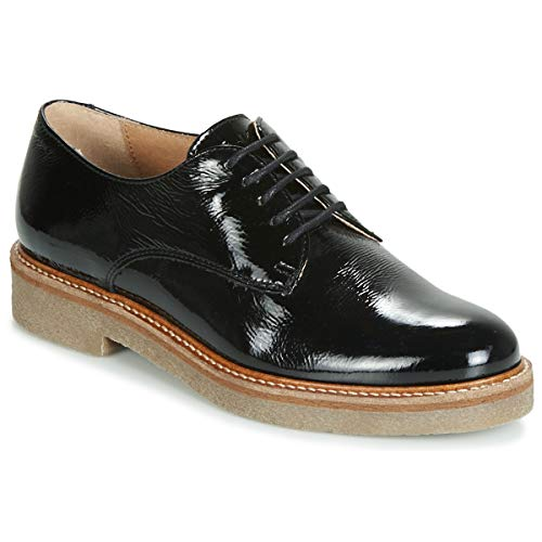 Kickers Oxfork Derbie & Richelieu Mujeres Negro/Barniz Derbie Shoes