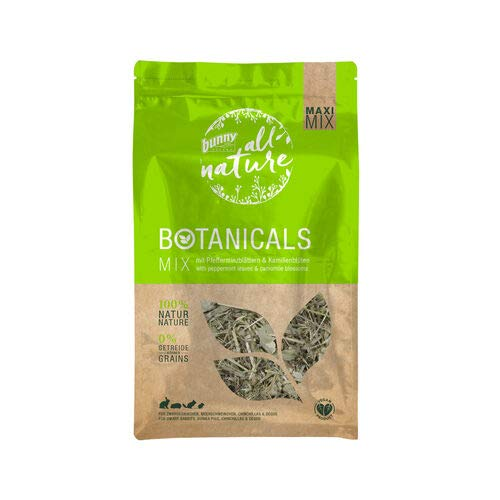 Bunny Nature All Nature Maxi Mix Botanicals - Peppermint & Chamomile - 400g