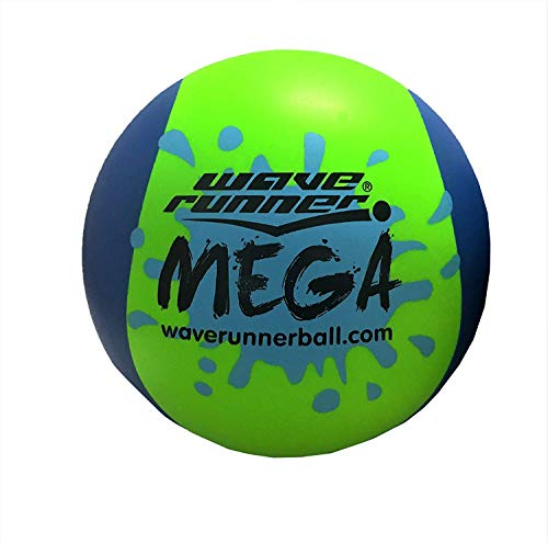 Product Image of the Wave Runner Mega Ball #1 Water Ball for Skipping and Bouncing The Perfect Pool...