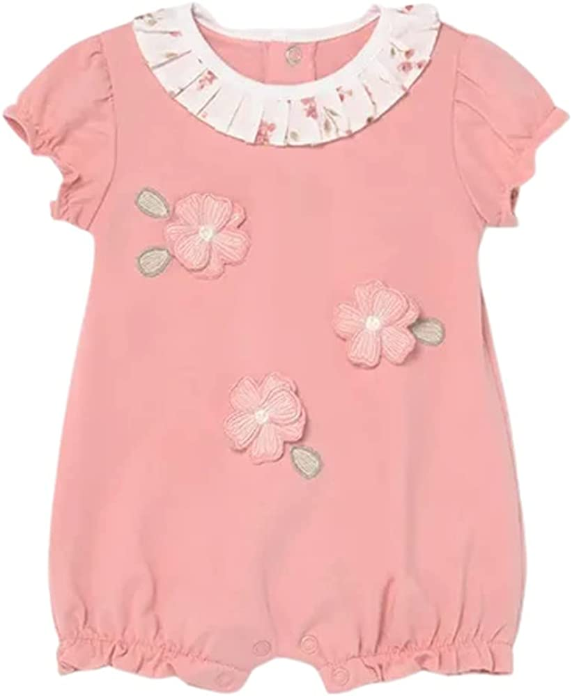Mayoral Baby Selling and selling Girls Smoothie Max 64% OFF Months Romper 2-4