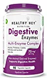 Healthyhey Nutrition Digestive Enzyme - Multi-Enzyme Complex - 75mg - Support Digestive Health - 90 Vegetable Capsules