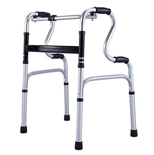 ZTBXQ Sport de Remise en Forme à l'extérieur Marcheur âgé en Alliage d'aluminium déambulateur à Roues handicapé Marcheur de rééducation à Roues