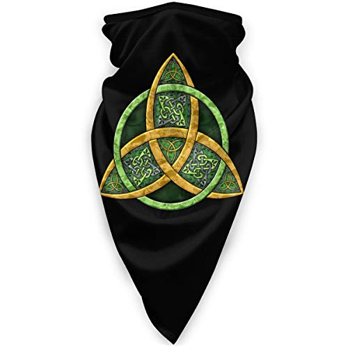 Cool Celtic Trinity Knot Face Nose And Mouth Washable Dust Mask Cloth Balaclava Bandana Scarf Shield