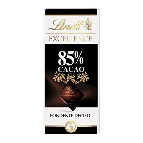 Lindt Tavoletta di Cioccolato Excellence 85% Cacao, 100g