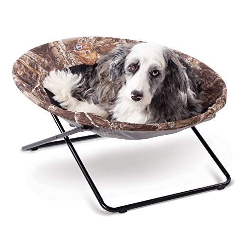 K&H PET PRODUCTS Elevated Cozy Cot Realtree Edge Large 30 Inches