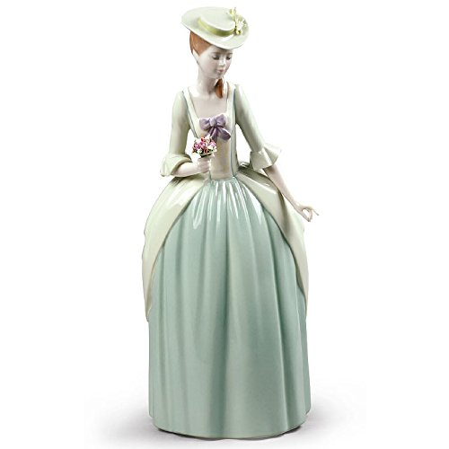 Lladro Floral Scent Figurine - Plus One Year Accidental Breakage Replacement -  01009181