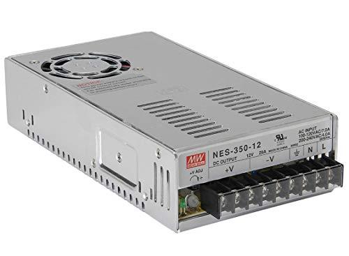 Fuente de Alimentacion MEANWELL NES 350w 12 V. Transformador de tensión Interruptor...