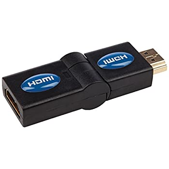 Monster 140069 Just Hook It up Swivel 180 HDMI Plug to Jack Adapter