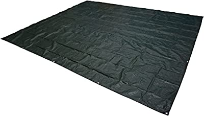 AmazonBasics Waterproof Camping Tarp - 10 x 12 Feet, Dark Green