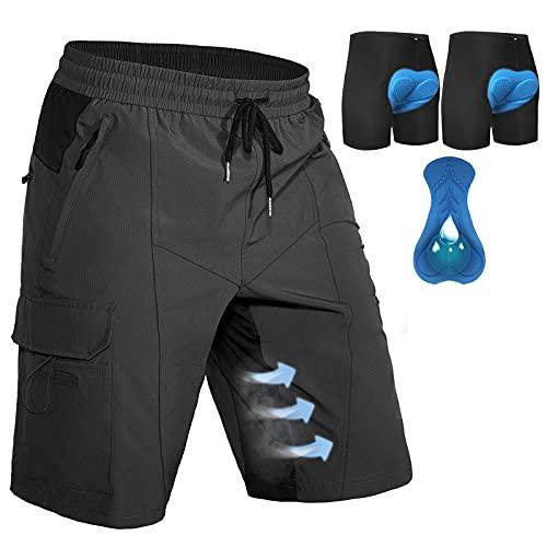 Hiauspor Herren Mountainbike-Shorts...