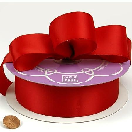 Double satin ribbon 6 mm Roll Coil 50 MT Lilac DIY-Art d0622