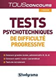 Tests psychotechniques de difficulté progressive