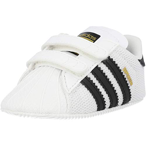 Adidas Superstar Crib, Zapatillas Unisex niños, Blanco (Footwear White/Core Black/Footwear White 0), 21 EU