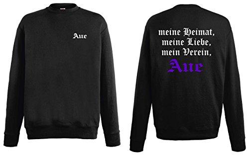 world-of-shirt Herren Sweatshirt AUE Ultras Meine Heimat