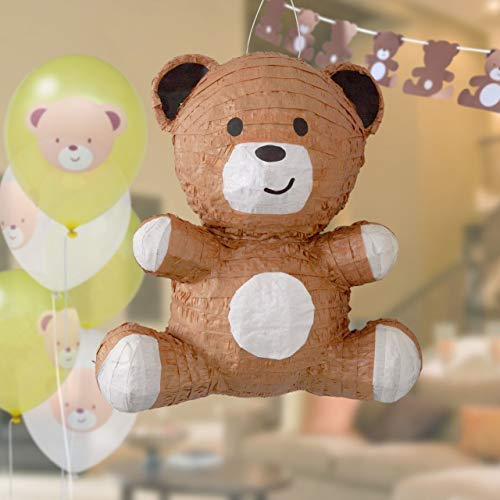 Hatton Gate Teddy Bear Piñata Balloon and Bunting Pack