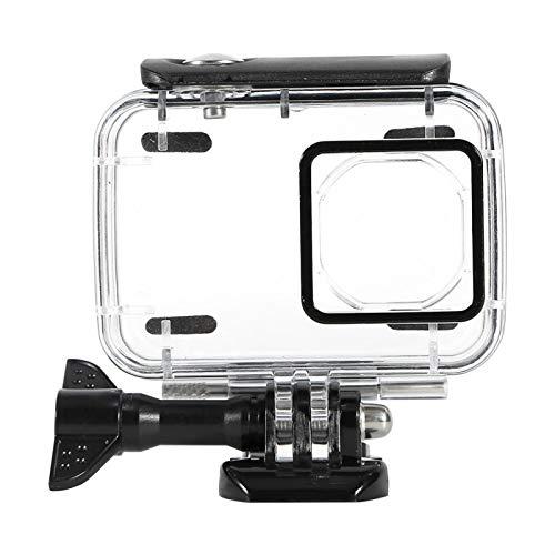 Wosune Caja de la Carcasa de la cámara, Cubierta de la Caja de la cámara de Montaje de la cámara, Cubierta de la cámara para cámara Deportiva Xiaomi Yi 2 4k(Black)