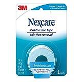 Nexcare Sensitive Skin Low Trauma Tape 1 in x 144 in 1 ea (Pack of 4)