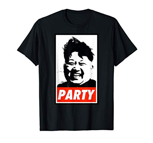 Kim Jong Un Party Camiseta