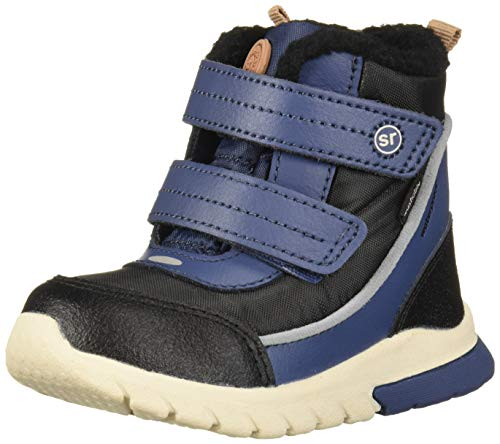 Stride Rite Baby-Boy's Made2Play Shay Snow Boot, Navy, 6 M US Toddler