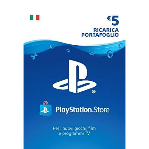 PlayStation Network PSN Card 5€ | Codice download per PS4 - Account italiano