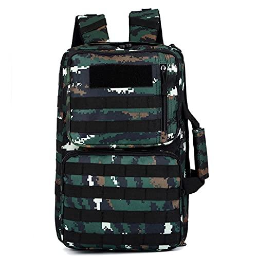 TH&Meoostny 35L Taktischer Rucksack Männer Frauen Outdoor Sport Reisen Laptoptasche Molle Militärrucksack Banhu Camouflage