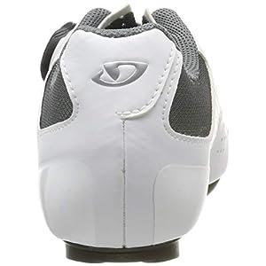 Giro Espada Boa Womens Road Cycling Shoe − 39, White/Silver (2020)