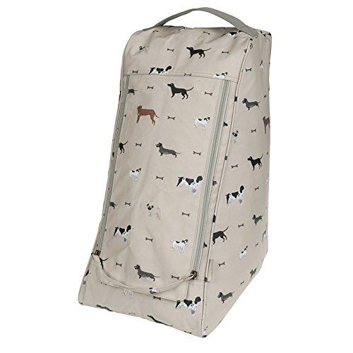 Sophie Allport Oilcloth Boot Bag - Woof desig
