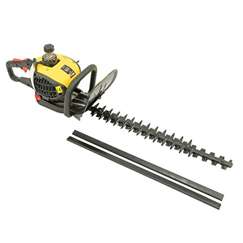 MaxxGarden - Tagliasiepi termico senza fili, 900 W, tagliasiepi a benzina, 25,4 cc, lama in acciaio da 70 cm, distanza dei denti 28 mm