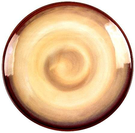 Sango Nova-Brown Dinner Plate, Fine China Dinnerware