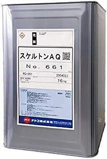 スケルトンAQ 水系環境対応型 塗膜はく離剤 1缶 16kg 非塩素系 非危険物 低毒性・低臭気 ナトコ RQ-661 一般建物の塗膜剥離
