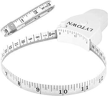 2-Pack LYTOWN Ergonomic Design Body Measuring Tape