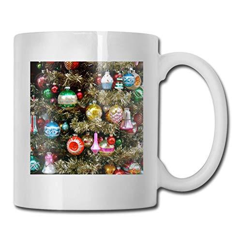 Taza Mug TazasTaza de café divertida, adornos navideños co