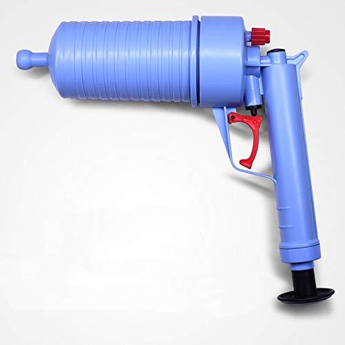 YLXD Abfluss Pistole,Pressluft-Rohrreiniger,Toilettenkolben,mit 4 Art Saugnäpfen, Multifunktionale Reinigungspumpe verwendbar für Toilette, Badewanne, Dusche, Wanne