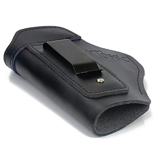 Vioaplem PDI De Cuero Encubrió Lleva Pistolera For Glock 17 19 22 23 43 Sauer P226 P229 Sig Ruger Beretta 92 M92 S & WPistols Clip Case Pistoleras (Color : Black Left Hand)