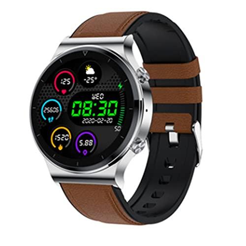 LOVOUO Reloj Inteligente Deportivo con Pantalla táctil Completa de 1,3 (Seguimiento de Fitness a Prueba de Agua IP68 con podómetro de monitorización del sueño del Ritmo cardíaco)