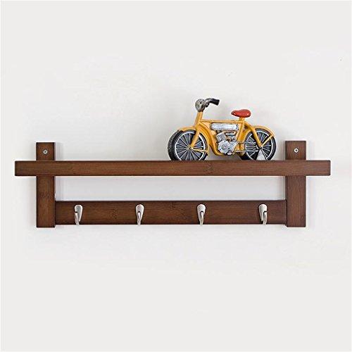 NYDZDM - Perchero de pared con diseño de creaciones japonesas en la pared (color: color retro, tamaño: 6 ganchos)