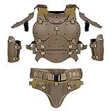 TOYANDONA Set di Armature Protettive Armatura Regolabile Tuta Protettiva Body Protector pe...