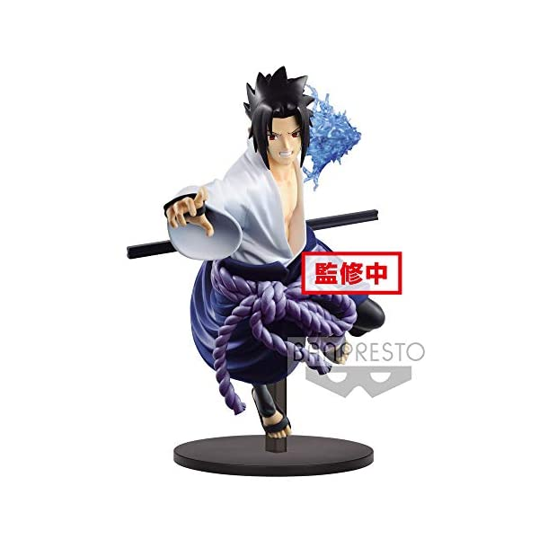 Naruto Shippuden - Figura de colección Uchiha Sasuke (Bandai 85456) 2