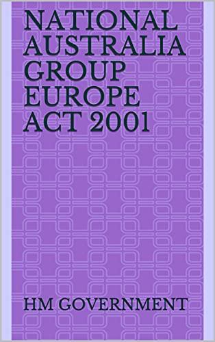 National Australia Group Europe Act 2001 (English Edition)