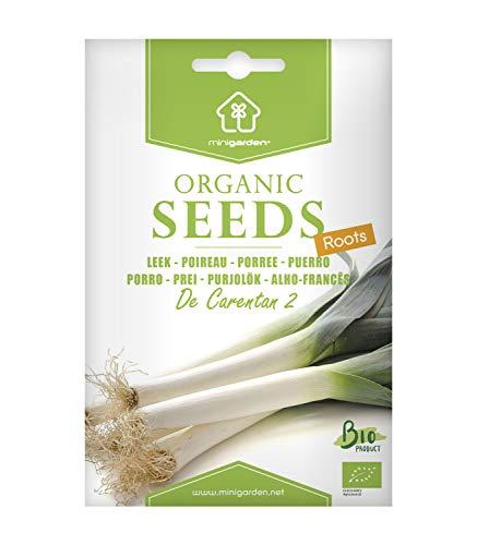 Porree Carentan, zertifizierte biologische Samen von Minigarden, enthält zwischen 900 und 1200 Samen