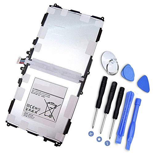 P601 Batería de Repuesto para Samsung Galaxy Note 10.1 2014 Edition P601 P600 T8220E SM-P600 SM-P605 SM-P607T SM-T520 SM-T525 AA1DB15WS / 7-B (3.8V / 8220mAh)