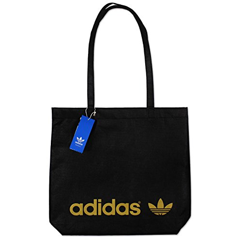 Adidas Adicolor Trefoil Shopper 2.0 Tasche black-metallic gold - NS