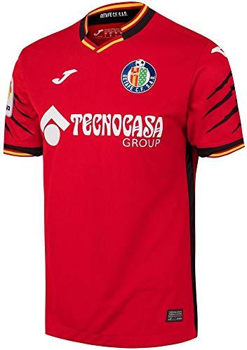Getafe Club de Fútbol 02362 Camiseta Oficial Segunda Equipación, Adultos Unisex, Rojo, 2XL