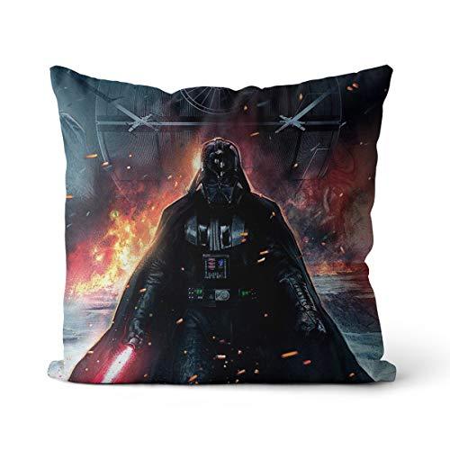 Almohada Decorativa Darth Vader renditions Cojín para sofá Sala de Estar sofá decoración del Coche Funda de Almohada + núcleo de Almohada 40X40CM